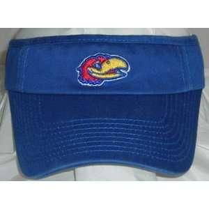 Kansas Jayhawks Mascot NCAA Adjustable Visor (Team Color)