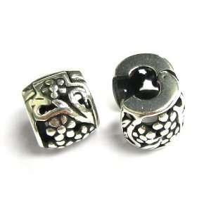 Bead For Pandora Thread / screw European Charm Bracelets Jewelry