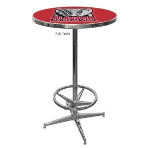 University of Alabama Crimson Tide NCAA Pub Table