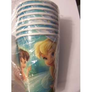 Fairies Tinkerbell and Fairies Set of 8 Party Cups Toys & Games