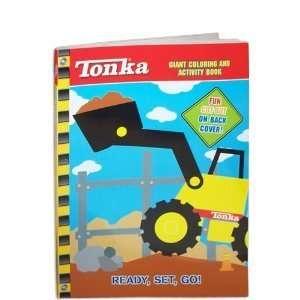 Tonka Giant Coloring & Activity Book ~ Ready, Set, Go