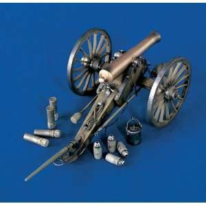 Civil War 12 Pounder Gun 120mm Verlinden Toys & Games