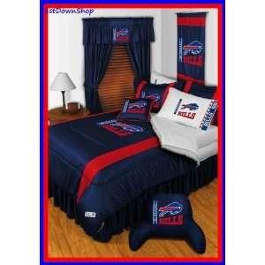 Buffalo Bills 4Pc SL Twin Comforter/Sheets Bed Set Sports