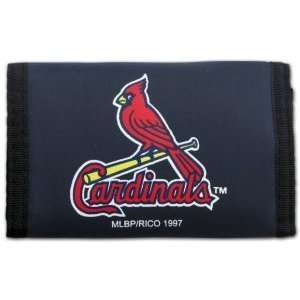 St. Louis Cardinals MLB Nylon Trifold Wallet