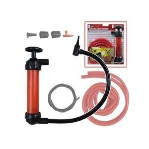 Water Oil Gasoline Siphon Inflator Pool And Beach Toy Air Tool Sports