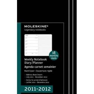 Moleskine 2011 18 Month Weekly Planner Horizontal Red Hard