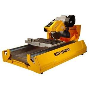 125 lb 1   1/2 Hp 10 Wet Tile Saw with Transportation