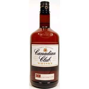 Canadian Club Canadian Whisky 750ml Grocery & Gourmet Food