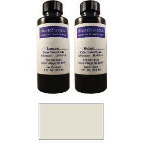 2 Oz. Bottle of White Metallic Tri Coat Touch Up Paint for