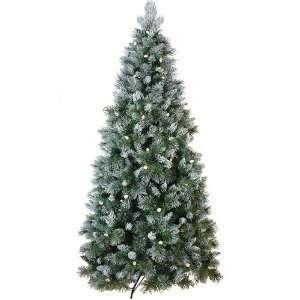 Pine Artificial Christmas Tree   Warm White C7