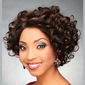 BEYONCE 83 Lace Front Synthetic Wig   Color #1B/33   Off Black/Auburn