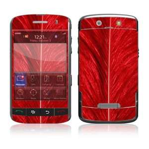 Red Feather Decorative Skin Decal Cover Sticker for