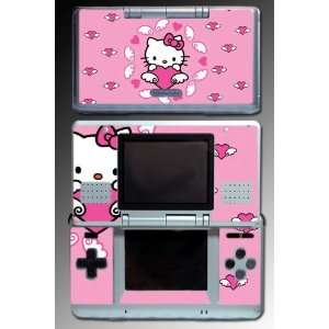 Cute Kitty Princess Pink Hearts Game Vinyl Decal Skin Protector Cover