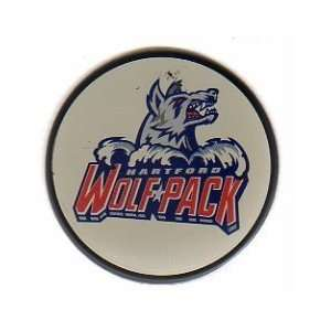 AHL Hartford Wolf Pack Officially Licensed hockey Puck