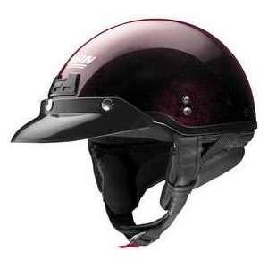NOLAN CRUISE WINE CHERRY MD MOTORCYCLE Open Face helmet