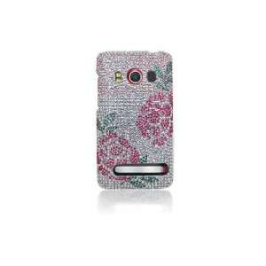 4G Full Diamond Graphic Case   Winter Roses Cell Phones & Accessories