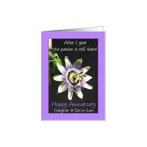 1st Anniversary for daughter & son in law   passion flower