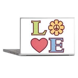Laptop Notebook 13 Skin Cover LOVE with Sunflower Peace