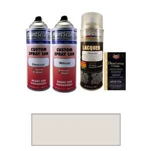 Tricoat 12.5 Oz. Cocoon White Pearl Tricoat Spray Can Paint Kit for