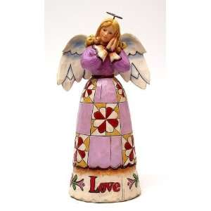 Jim Shore   Heartwood Creek   Love Angel by Enesco