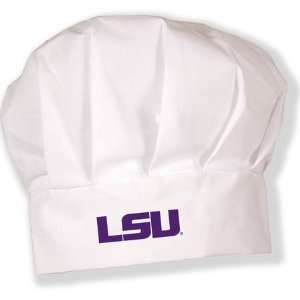 LSU Louisiana State Tigers NCAA Adult Chefs Hat
