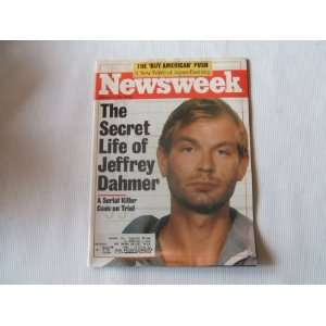 Newsweek February 3, 1992 (THE SECRET LIFE OF JEFFREY DAHMER