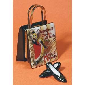 Bag Moulin Rouge with Shoes French Le Limoges Box Home