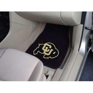 Colorado CU Buffaloes Carpet Car/Truck/Auto Floor Mats