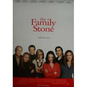 The Family Stone, Version B, Original Double sided Movie