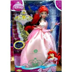 Disney Crystal Dream Ariel Porcelain Doll Toys & Games
