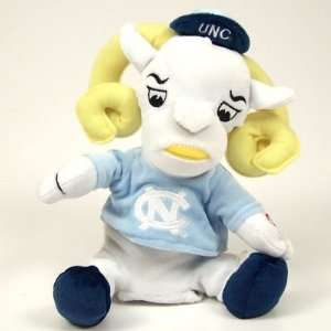NORTH CAROLINA TAR HEELS RAMSESES MASCOT DANCING PLUSH TOY