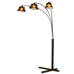 Lighting 12139 Craftsman 3 Light Arc, Dark Brown