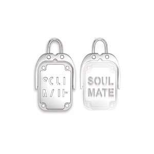Inori Spinning Soul Mate Stainless Steel Pendant