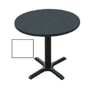 Correll Bxt24R 36 Cafe and Breakroom Table   Round   White