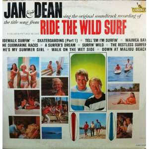 ride the wild surf (soundtrack) LP: JAN & DEAN: Music