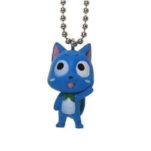 Fairy Tail mini Deformed Figure Series Keychain Happy