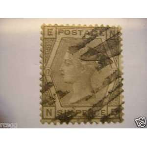 GREAT BRITAIN SCOTT #67 PLATE17 USED