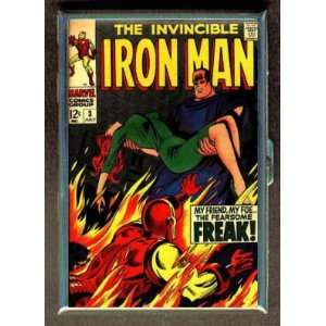 IRON MAN #3 1968 COMIC BOOK ID CIGARETTE CASE WALLET