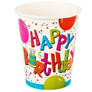 Industries, Inc. Birthday Jamboree 9 oz. Paper Cups Everything Else
