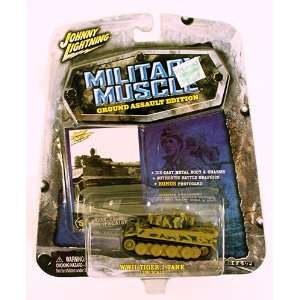 Johnny Lightning Military Muscle WWII Tiger I Tank 1:100
