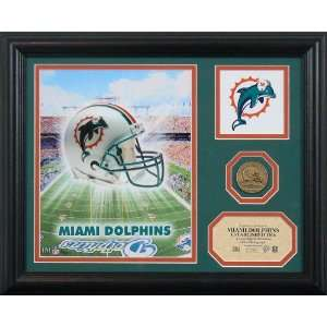 Miami Dolphins Team Pride Photo Mint: Sports & Outdoors