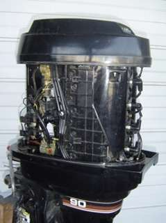 HP Outboard Boat Motor with Power Tilt Super Clean see and hear VIDEO