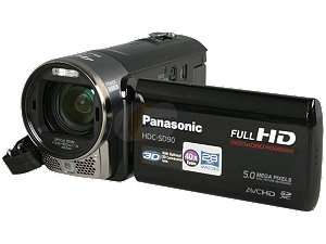 Newegg   Panasonic HDC SD90K Black 1/4.1 MOS 3.0 230k LCD 21X