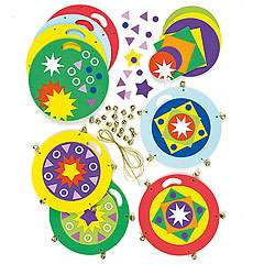 Tambourine Foam Craft Kits