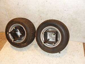 Wheel Horse Dual Rear Wheel Kit Tires 520 Garden Tractor Loader Cadet