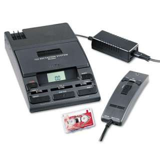 Philips Dictation System 725 Mini Cassette Recorder with Handheld