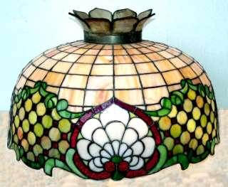VICTORIAN ERA GLASS SHADE (GLASS HANGING LAMP, CEILING LIGHTING