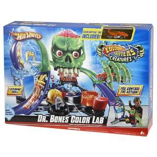 Hot Wheels Color Shifters Dr. Bones Color Lab Playset   Mattel   Hot
