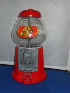 Jelly Belly Candy Jelly Bean Dispenser Coin Machine Bank
