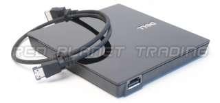 Dell External DVD RW Drive+Cable Latitude E4200 E4300